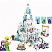 Montez Princes Sparkling Ice Castle SY-806 767 PCS Block Construction Toy DIY Set