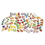 Kidkraft Jumbo Tasty Treats Playfood Set 135 Pieces