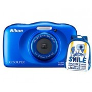 Nikon Coolpix W150 - Blue Backpack Kit