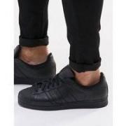 adidas Originals - Superstar - Svarta sneakers af5666 - Svart