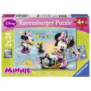 PUZZLE Copii 4Ani+ MINNIE MOUSE, 2x24 PIESE