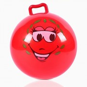 Inflatable Hopper Ball with Handle Balls Toy for Children and Baby,Jumping Bounce stress ball Children Health Care toy PVC Balance Balls for Kids Boys & Girls Christmas party - (Diameter 10in/25cm)