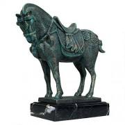 Design Toscano Estatua de Hierro con diseño de Caballo