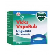 Procter & Gamble Srl Vicks Vaporub Unguento Uso Inalatorio 50g