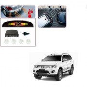 Auto Addict Car White Reverse Parking Sensor With LED Display For Mitsubishi Pajero Sport
