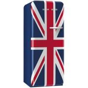 SMEG FAB28LDUJ3 retro egyajtós hűtőszekrény - balos - angol zászlós