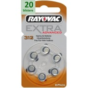 Rayovac 312 Extra Advanced - 20 blistere