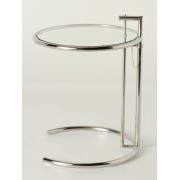 Premium Replica Eileen Gray Side table-Stainless Steel or Polished Steel