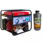 Generator curent MEDIA LINE MLG 6500E/1 6.5 KVA motor 15 CP benzina monofazat + CADOU Ulei pentru motoare 4T AgroPro