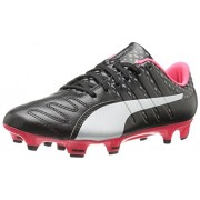 PUMA Men s Evopower Vigor 3 Lth FG Soccer Shoe Puma Black/Puma Silver/Quiet Shade/Bright Plasma 9 D(M) US
