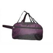 One Up (Expandable) Waterproof Trolley Purple12 Duffel Strolley Bag(Purple)