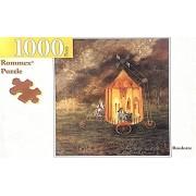 Rommex Roulotte Remedios Varo Rompecabezas 41x86cm 1000 Pzs