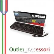 Tastiera Keyboard Multimediale USB 2.0 KEY-613M Vultech per PC Desktop Computer