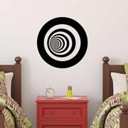 Sticker decorativ de perete Sticky, 260CKY5028, Negru