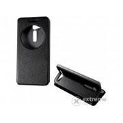 Husa din piele Gigapack S-View Cover pentru telefon Asus Zenfone Go , negru