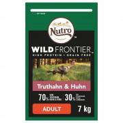 Nutro Wild Frontier Adult за котки с пуешко и пилешко - 2 x 7 кг