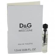 Dolce & Gabbana Masculine Vial (Sample) 0.05 oz / 1.48 mL Men's Fragrance 541986