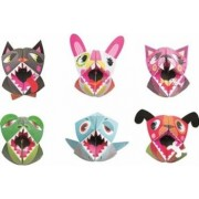 Jucarie educativa Janod Origami Puppets - Animals