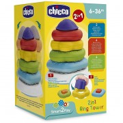 Chicco torre anelli 2 in 1