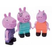 BIG figurine de jucărie Peppa Pig PlayBIG Bloxx 3 buc 57112