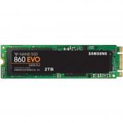 Samsung 2 TB Interne SSD 860 EVO M.2 Zwart