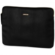 Stationery Team laptop sleeve Supertrash zwart 24 x 33 cm