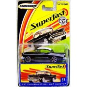 Matchbox Superfast 35th Anniversary Limited Edition 1957 Chevrolet Bel Air Hardtop #37 With Collectors Box