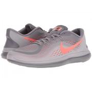 Nike Free RN 2017 GunsmokeTotal CrimsonAtmosphere Grey
