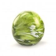 Kleine Glazen Bal Dierenurn Elan Marble Green (0.5 liter)