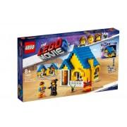 Set de constructie LEGO Movie Casa de vis a lui Emmet / Racheta de salvare!