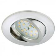 Briloner LED-Einbaustrahler Attach Silber Kunststoff