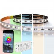 3 meter complete set RGBWW led strip met Zigbee controller