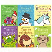 The Book Bundle Thats not my touchy feely series 9 and 10 : 6 books collection (meerkat,hedgehog,monster,elf,snowman,unicorn)