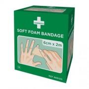 Cederoth Cederroth soft foam bandage, 6 x 200 cm, doosje 2 stuks