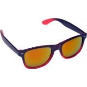 SR FASHION HUB Wayfarer Sunglasses(Golden, Orange, Yellow)