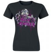 Iron Maiden Gimme Ed Sketchy Damen-T-Shirt - Offizielles Merchandise S, M, L, XL Damen