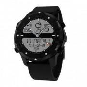 Ceas smartwatch TechONE F3 Sports Pro 3G GPS busola WiFi puls sim puls Android 5.1 notificari negru