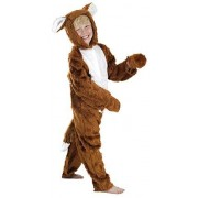 Fancy Me Boys Girls Kids Childs Fantastic Mr Fox Onesie Book Week Animal Fancy Dress Costume Outfit (4-6 Years (116cms)) Brown