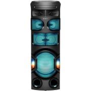 Sistem audio SONY MHC-V82D, Jet Bass Booster, Sunet 360 grade, Hi-Fi, Bluetooth, NFC, Dj Effects, USB, DVD, Party music, Party lights (Negru)