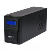 UPS Serioux 1000VA, Line Interactive, 1000VA/600W, 2 porturi Schuko, RJ45+USB, carcasa metalica, functie AVR, repornire automata SRXU-1000LI (SERIOUX)