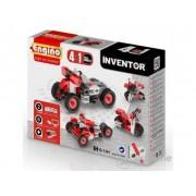 Set de montare modele Engino Inventor, Motorete, 4 in 1