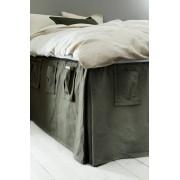 UTILLA sängkappa 60 cm Khakigrön