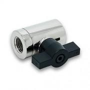 EK Water Blocks EK-AF Ball Valve (10mm) G1/4 Negro, Plata Accesorio de refrigeración