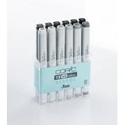 Copic Classic Marker set met 12 neutraal grijs