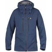 FjallRaven Bergtagen Eco-Shell Jacket - Mountain Blue - Vestes de Pluie XS