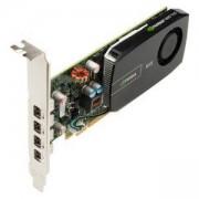 Видеокарта PNY Quadro 4 510NVS 2GB PCI EXP x 16x, 4 x DP to VGA, PNY-VCNVS510VGA-PB