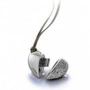 Stick USB 2Gb Pandantiv Inimioara cu Cristale