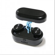 K20 Wireless Bluetooth 5.0 Headset with Portable Charging Case for Xiaomi Apple Samsung Etc.