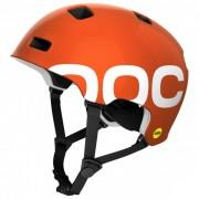 POC - Crane Mips - Casque de cyclisme taille XS-S - 51-54 cm, rouge/orange/noir