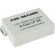 Ansmann A-Can LP-E8 Lithium-Ion (Li-Ion) 1000mAh 7.4V oplaadbare batterij/accu